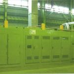 熱可塑フリース連続加熱成形炉