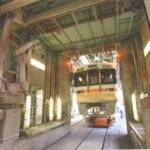 鉄道車両先頭部自動塗装装置